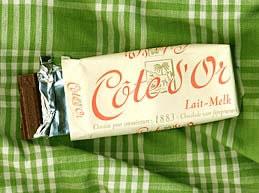コートドールのミルクチョコレート